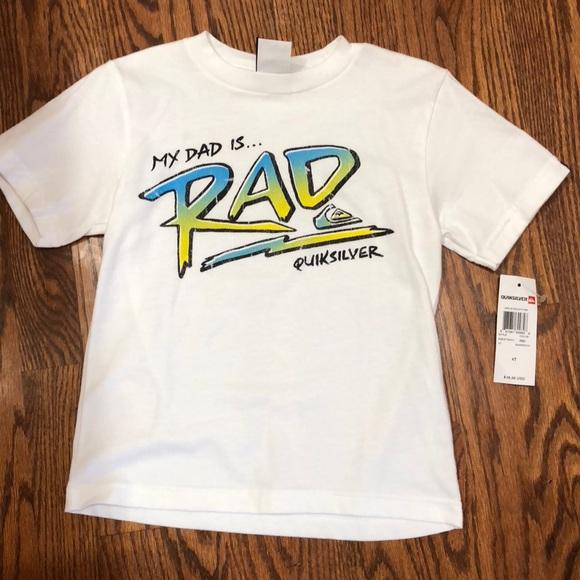 cd6f3d00d0 Boys quicksilver shirt size 4t NWT